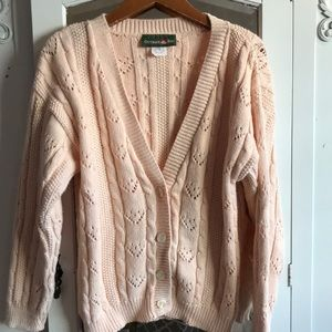 Vintage soft pink sweater